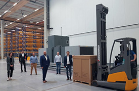 Pharmaserv erste Pallete im Airfreight Hub Gross Gerau News